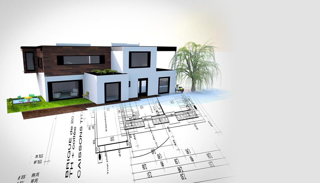Construction de votre maison toulouse c te pav e et balma for Architecture projet